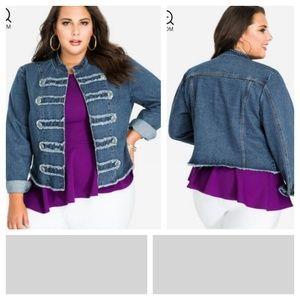 Jackets & Blazers - Military style jacket